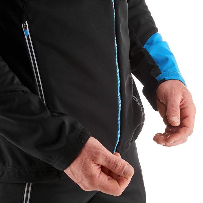 Veste ski de fond coupe vent homme bleue - 1217994