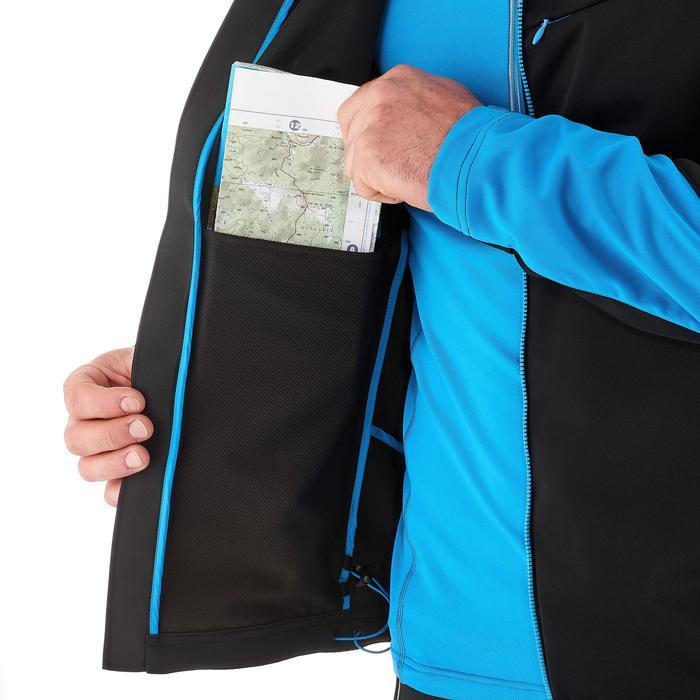Veste ski de fond coupe vent homme bleue - 1217995