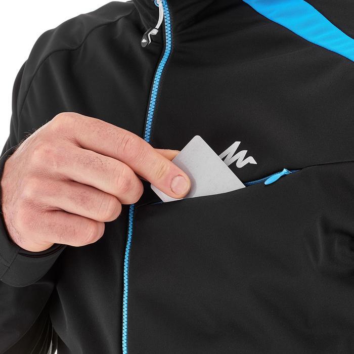 Veste ski de fond coupe vent homme bleue - 1218006
