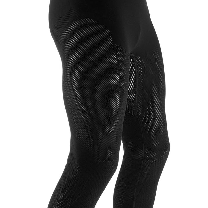 Thermische herenlegging voor langlaufen zwart