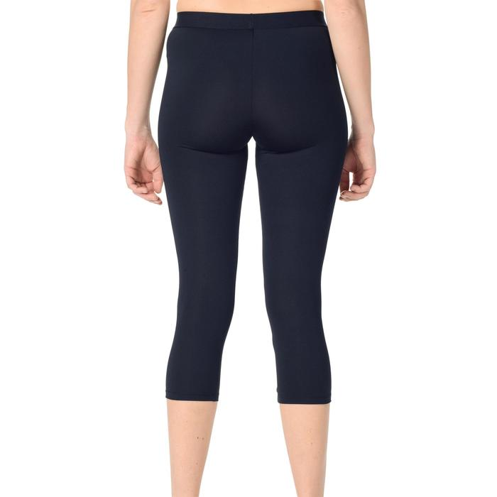 Funktionshose 3/4-Leggings Damen schwarz