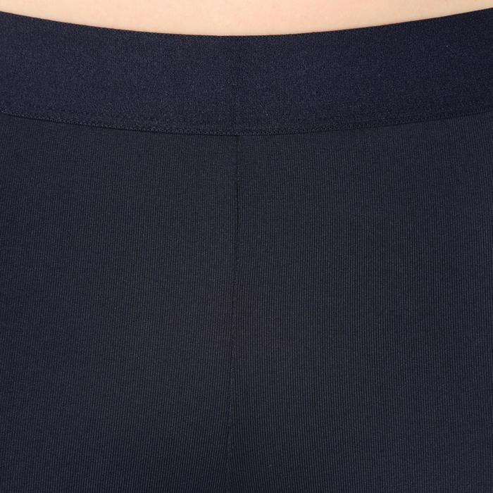 Funktionshose 3/4-Leggings Tights Basketball Damen Fortgeschrittene schwarz