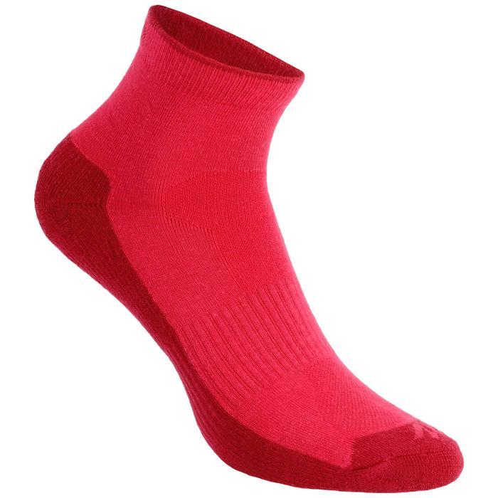 Calcetines de senderismo Naturaleza media caña 2 pares Arpenaz 50 rosa