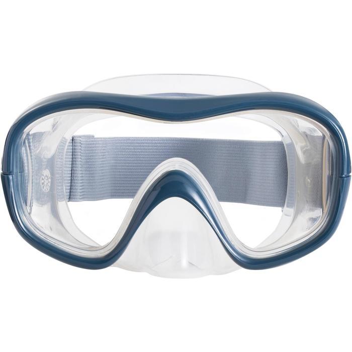 Kit masque tuba de snorkeling 500 - 1218129