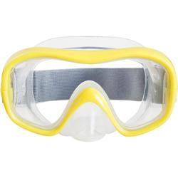Snorkelling Mask SNK 500 Jr yellow CN