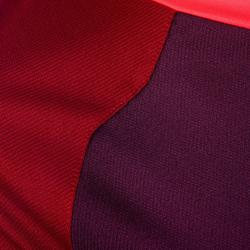 Rugbyshirt voor dames R500 paars/bordeaux