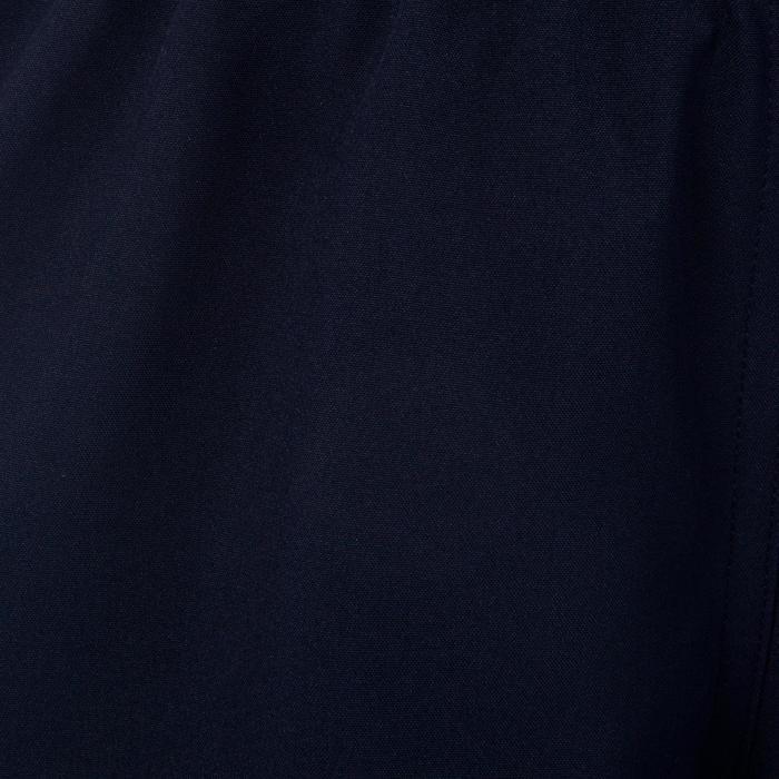 Rugbyshort R500 dames marineblauw/lichtblauw