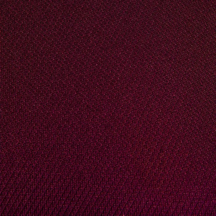 Rugbyshirt R500 dames marineblauw/pruim
