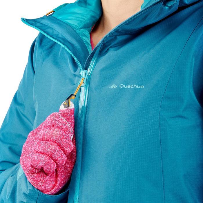 Veste trekking Rainwarm 500 3en1 femme - 1218323