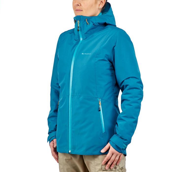 Veste trekking Rainwarm 500 3en1 femme - 1218339