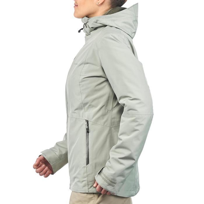Veste trekking Rainwarm 500 3en1 femme - 1218389