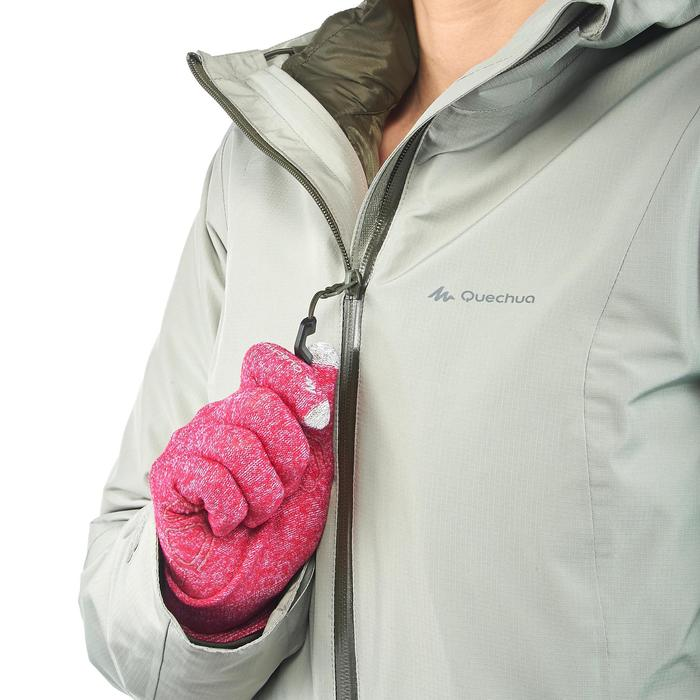 Veste trekking Rainwarm 500 3en1 femme - 1218403