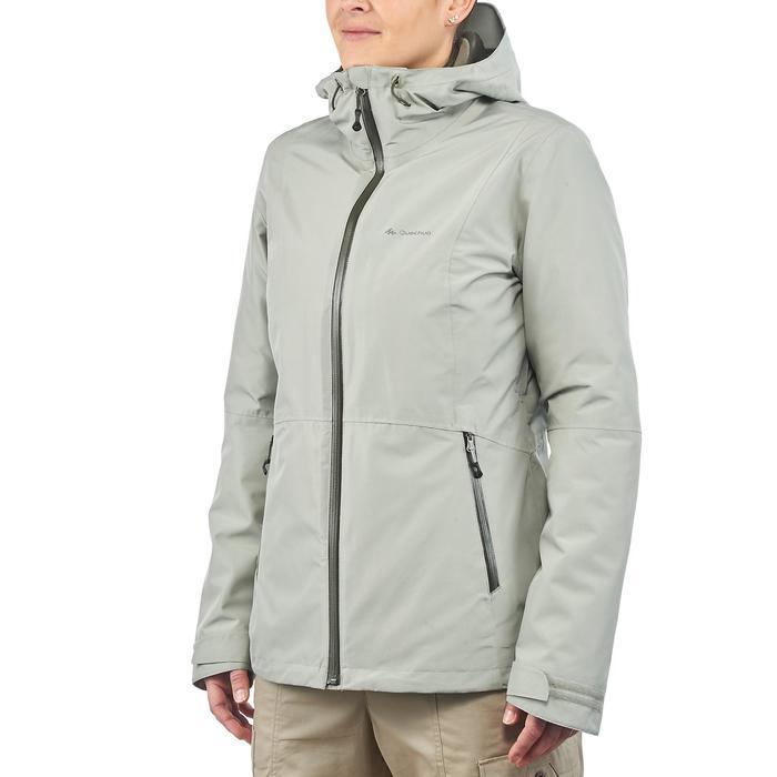 Veste trekking Rainwarm 500 3en1 femme - 1218406