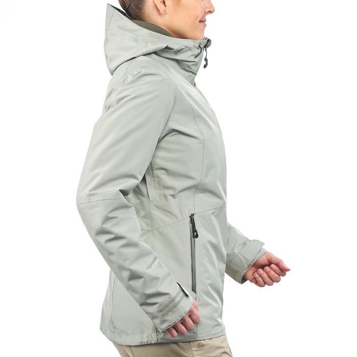 Veste trekking Rainwarm 500 3en1 femme - 1218407