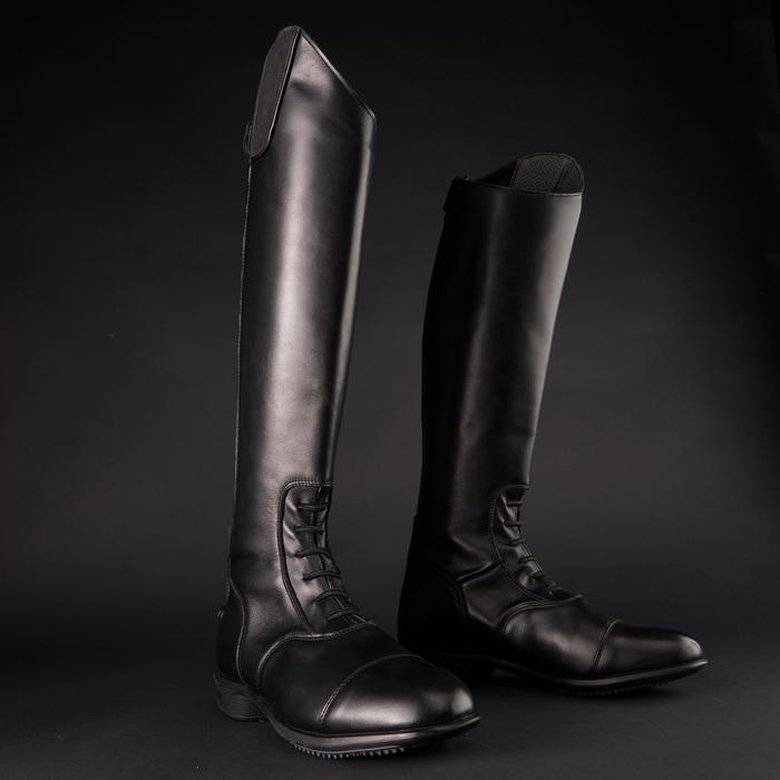 Bottes cuir équitation adulte LB 900 - 1218490