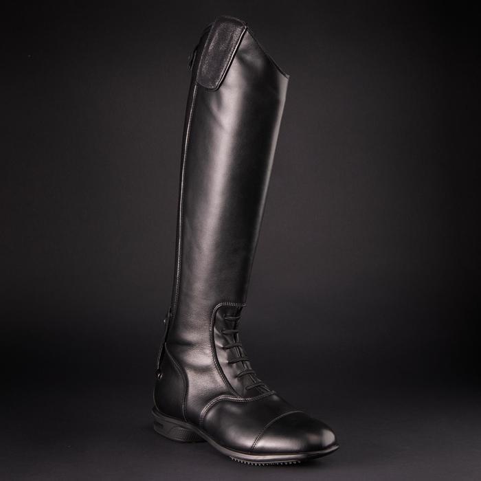 Bottes cuir équitation adulte LB 900 - 1218498