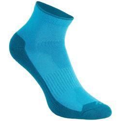 Calcetines de senderismo en la naturaleza media caña 2 pares Arpenaz 50 azul