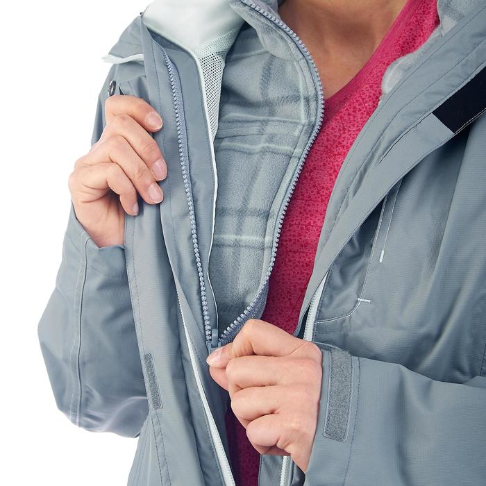3-in-1-Jacke Rainwarm 300 Damen grau