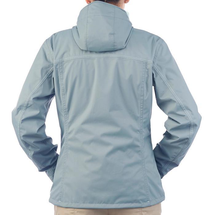 3-in-1 damesjas voor trekking Rainwarm 100 grijs