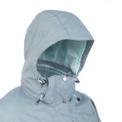 Chamarra trekking Rainwarm 100 3 en 1 mujer gris