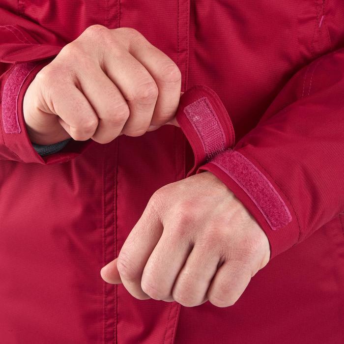 3-in-1 damesjas voor trekking Rainwarm 100 roze