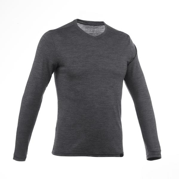 T-SHIRT MANCHES LONGUES TRAVEL 500 WOOL HOMME