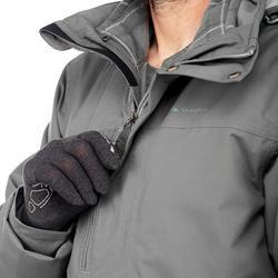 Veste trekking Rainwarm 300 3en1 homme gris