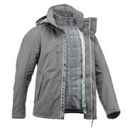 Rainwarm 300 3-in-1 grey mens trekking jacket