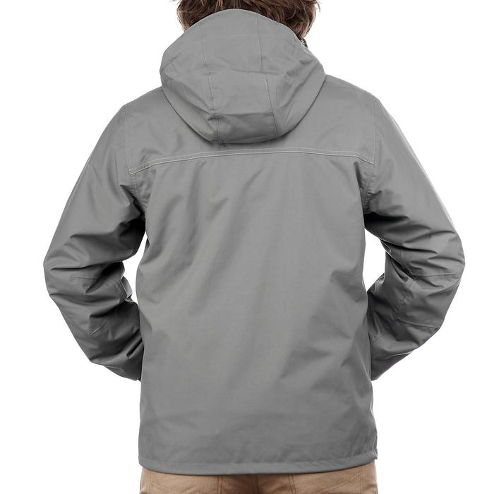 Chaqueta trekking Rainwarm 300 3 en 1 hombre gris