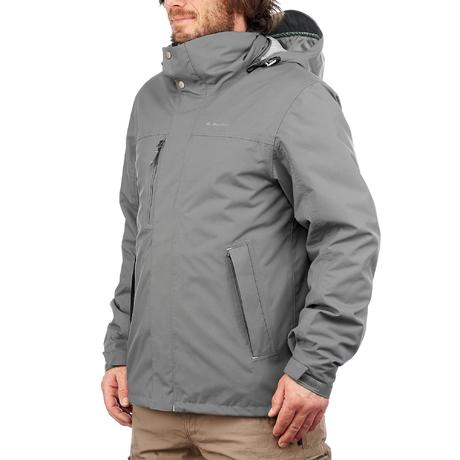 Rainwarm 300 3-in-1 grey mens trekking jacket