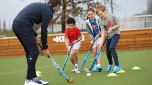 hockey sur gazon enfant
