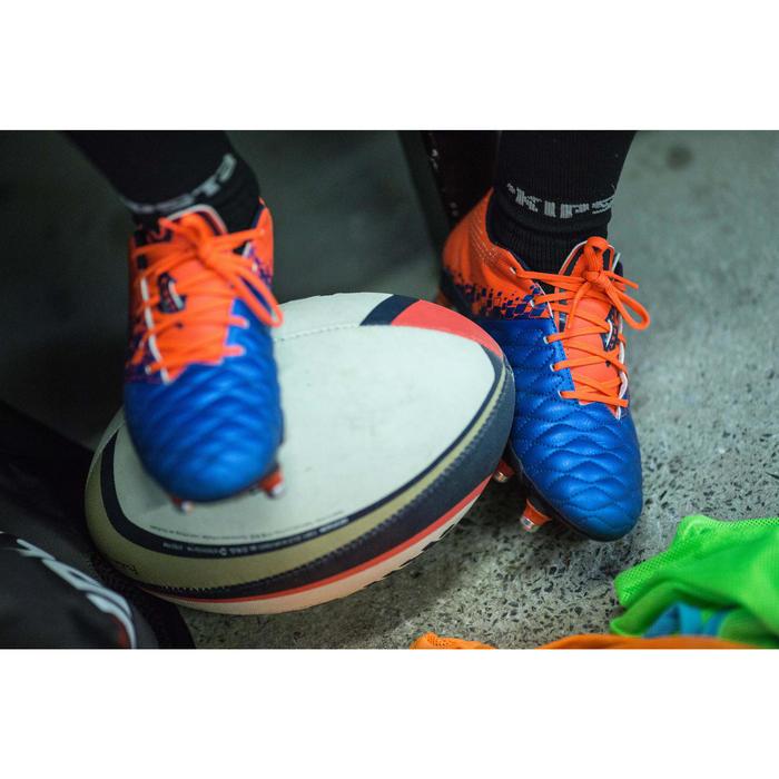 Crampons de rugby enfant terrains gras Agility 900 SG bleue orange