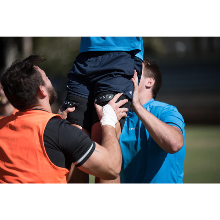 Line-out ondersteuning rugby zwart