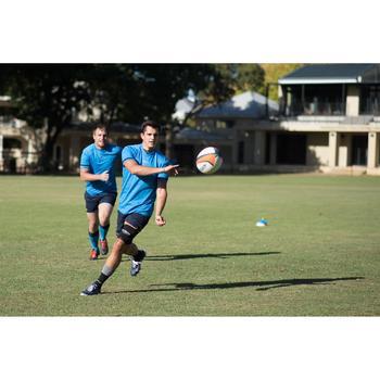 Rugbyshirt voor volwassenen R100 blauw