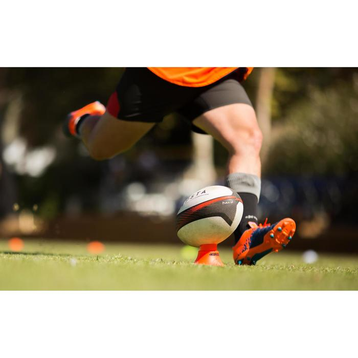 Tee rugby ajustable orange