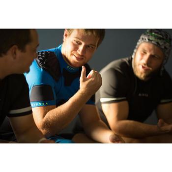 Hombreras Rugby Offload R500 adulto azul