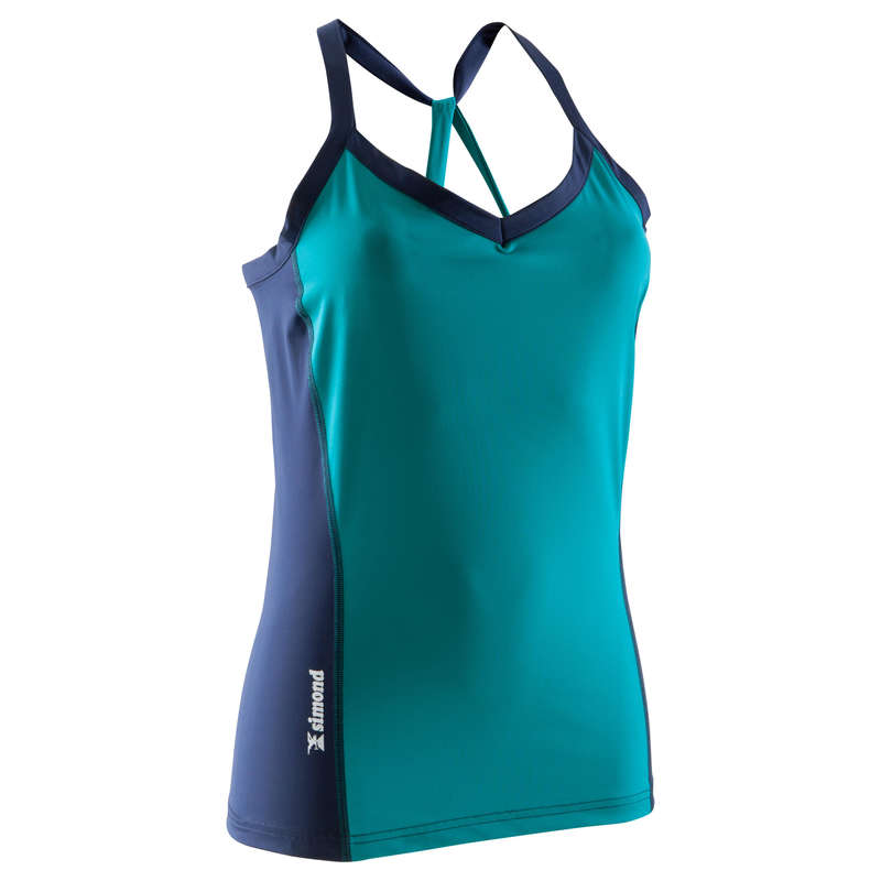 CLIMBING CLOTHING - Edge Women's Tank - Turquoise SIMOND