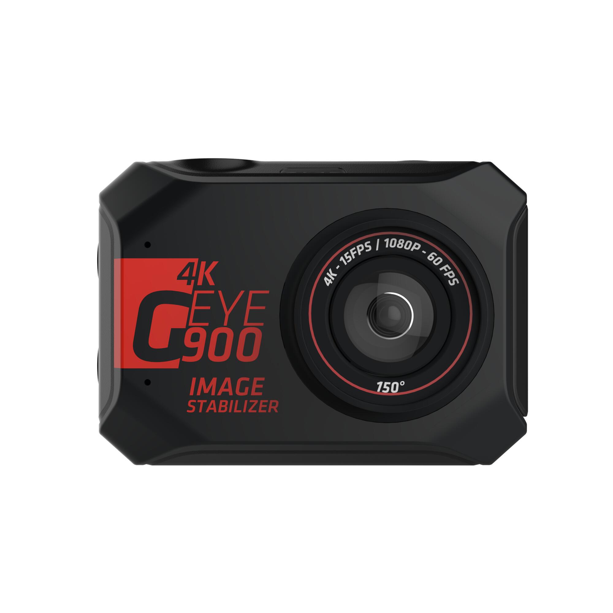 Cámara deportiva G-EYE 900 4K y FULL HD con pantalla táctil.
