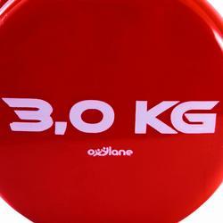 Hanteln Pilates Toning 3kg 2 Stück
