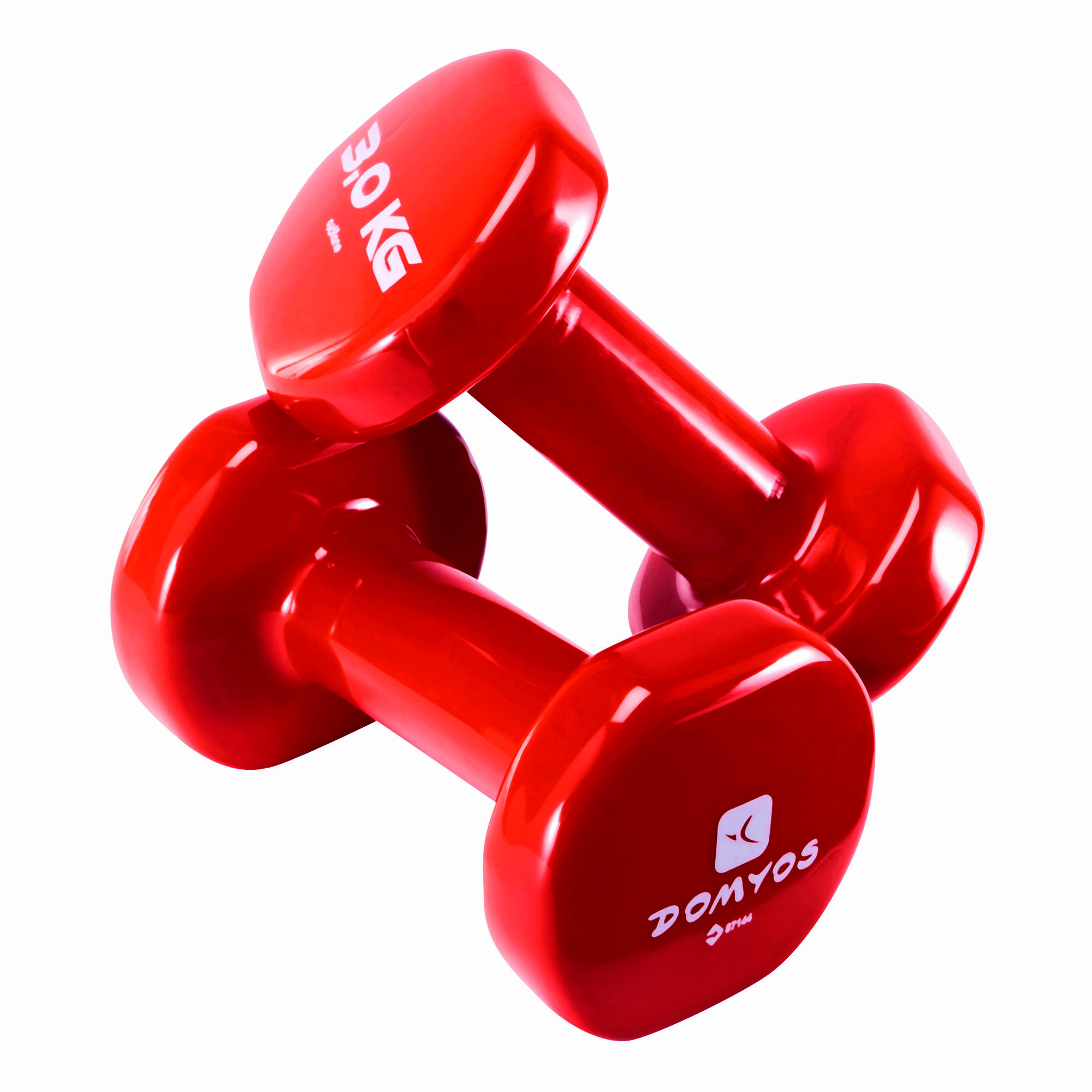 PVC Dumbbells Twin-Pack 3 kg