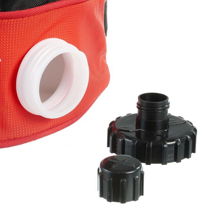 Isotherme drink belt langlaufen volwassenen 1 l rood