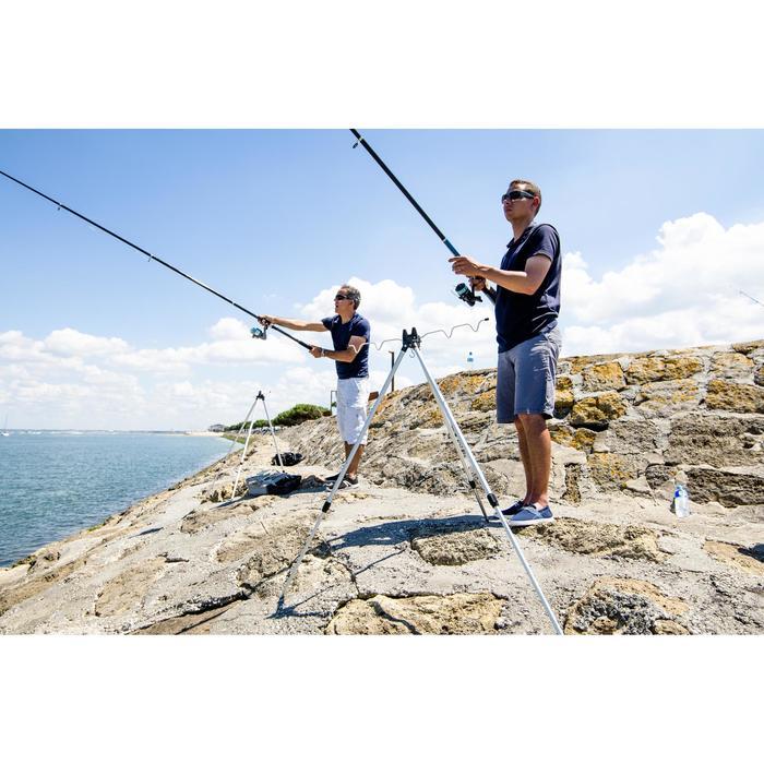 Support de canne pêche en mer TÉLESCOPIQUE TRÉPIED - 1221436