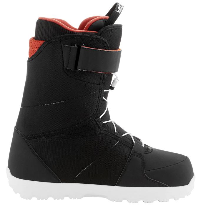 Chaussures de snowboard, all mountain, homme, Foraker 300 - Fast Lock 2Z, noires - 1221551