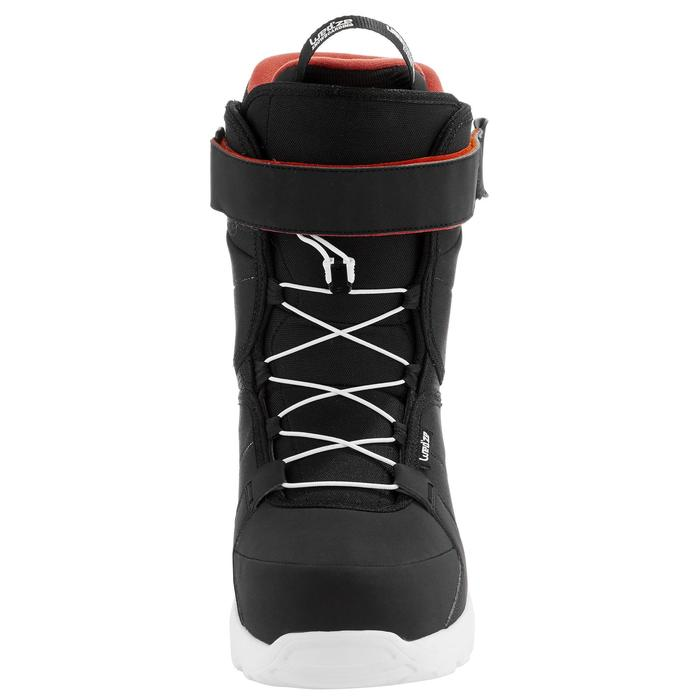 Chaussures de snowboard, all mountain, homme, Foraker 300 - Fast Lock 2Z, noires - 1221558