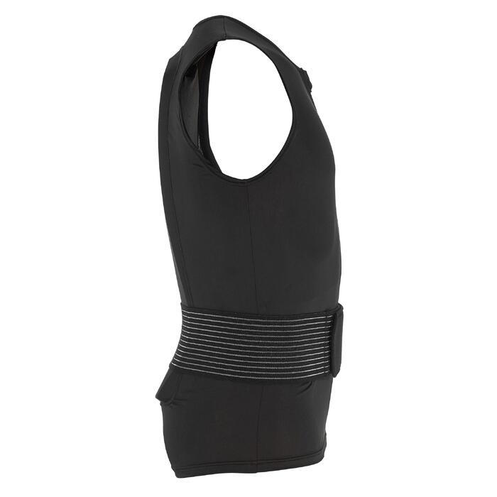 Gilet protection dorsale de ski et snowboard DBCK 100 noir - 1221566