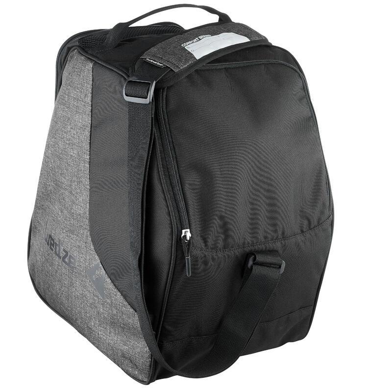 Tas voor skischoenen 500 grijs/zwart