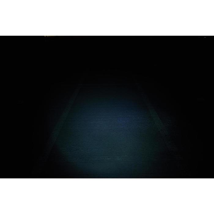 ECLAIRAGE VELO LED SL 100 AVANT NOIR A PILES