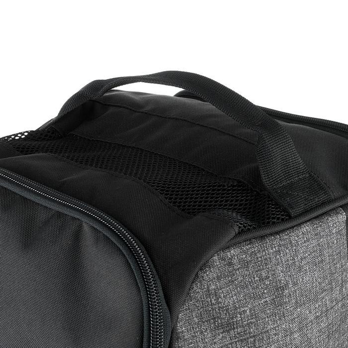滑雪靴袋500 - 灰色與黑色