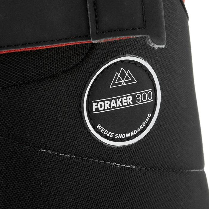 Chaussures de snowboard, all mountain, homme, Foraker 300 - Fast Lock 2Z, noires - 1221586