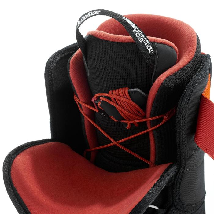Chaussures de snowboard, all mountain, homme, Foraker 300 - Fast Lock 2Z, noires - 1221593